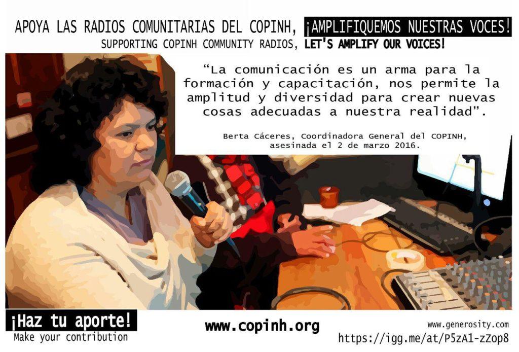 campaña copinh